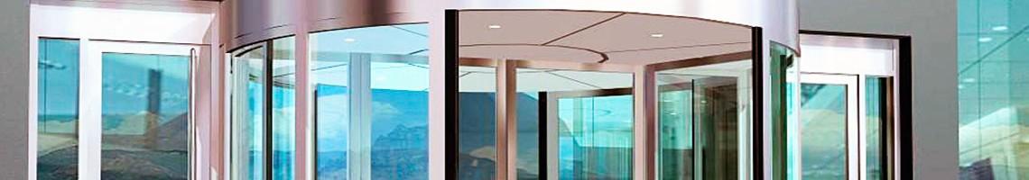 Автоматические двери Толщина стекла 24мм