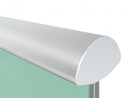 SF-6423 Поручень для стекла 12, 16, 20мм алюминиевый