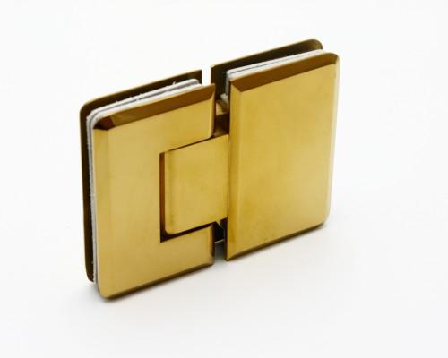 SF-303 Петля  стекло-стекло 180град., GOLD