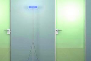 Алюминиевая рама для стеклянной двери
