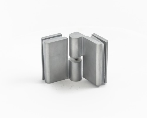 8411 Петля стекло-стекло без фиксации (правая-1, левая-2), 15
