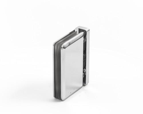 SF-307 Петля пол/потолок- стекло 360град., CP