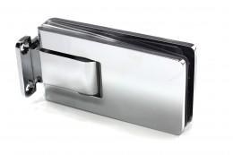 SF-610 Петля стена-стекло 90град. с 2-мя регулировками, CP