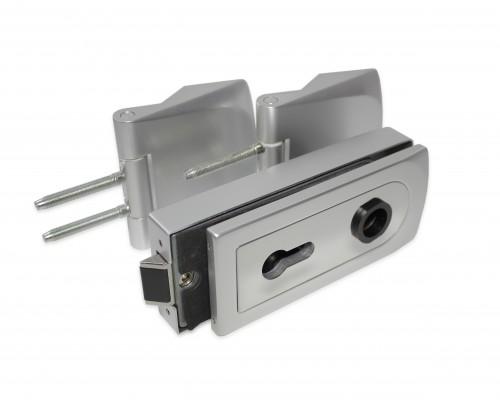 25400 замок комбинированный под ключ с петлями и осями, CG