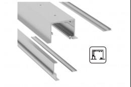 SV-X110 Направляюча для підвісної стелі + фіксована стулка