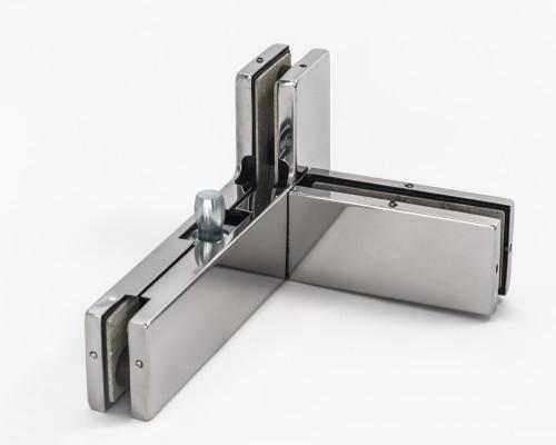 SF-141 Левый/Правый Фитинг угловой для 3-х стёкол, PSS