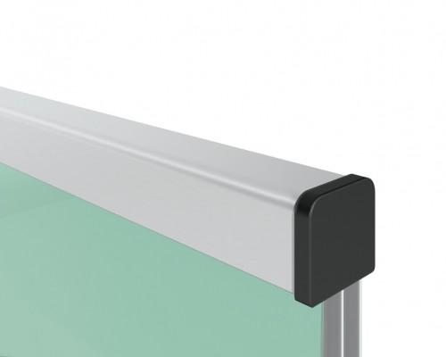 SF-6540 Поручень для стекла 12, 16, 20мм алюминиевый