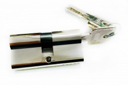 1671SW10 Циліндр ключ-ключ, 32
