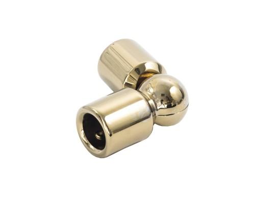SF-915 Конектор труба-труба поворотний, GOLD