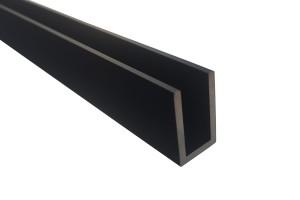 12*20 Профиль алюминиевый Black