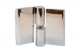 8411 Петля стекло-стекло без фиксации (правая-1, левая-2), 14