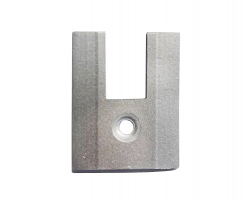 Заглушка на клемный профиль h=40 мм
