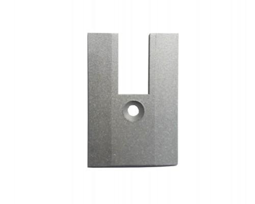 Заглушка на клемный профиль h=50 мм