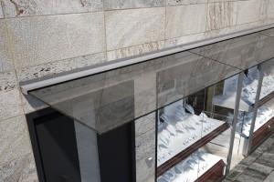N100 Профиль для стеклянного навеса